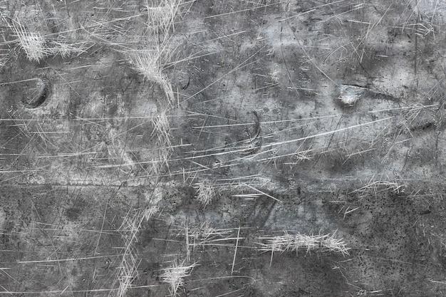 Gebürstete metallstruktur aus poliertem eisenblech oder edelstahl