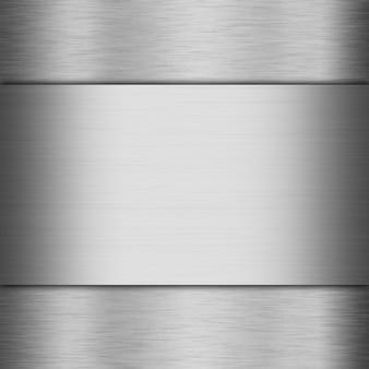 Gebürstetes metall aluminium