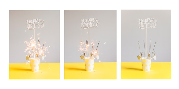 Geburtstagskarten-serie