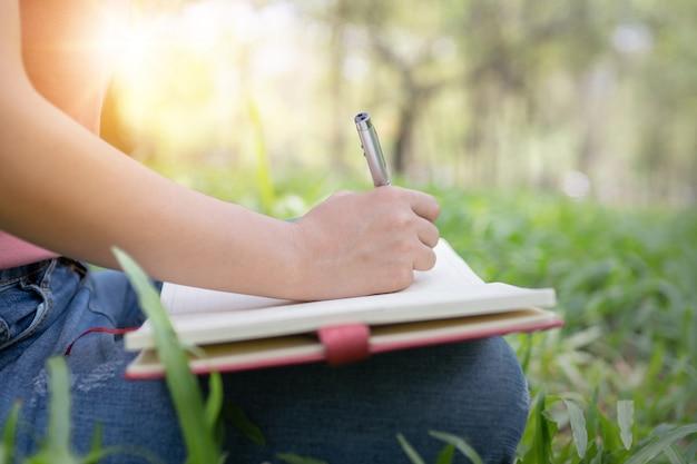 Gedicht, poesie und wissensbildungskonzept