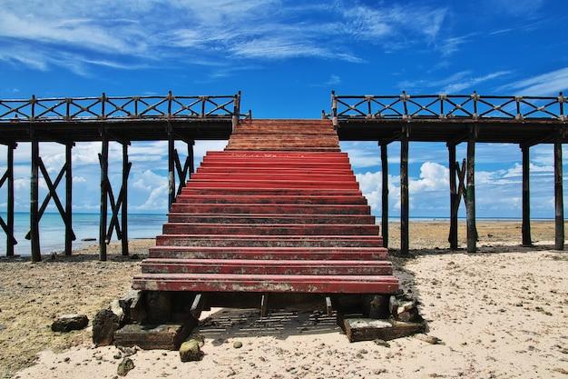 Gefängnisinsel auf sansibar, tansania