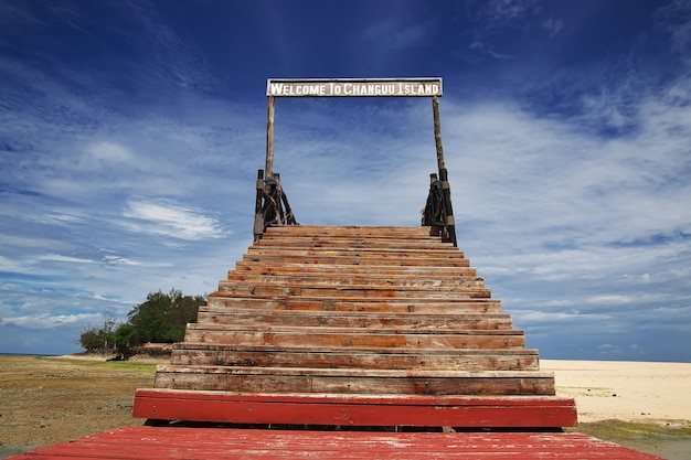Gefängnisinsel auf sansibar tansania