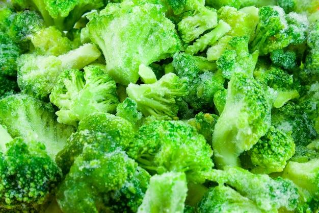 Gefrorener brokkoli baskground