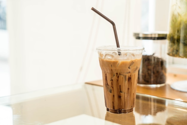 Gefrorener mokka-kaffee