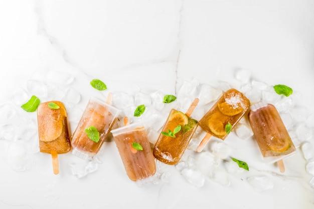 Gefrorenes cocktailkuba libre