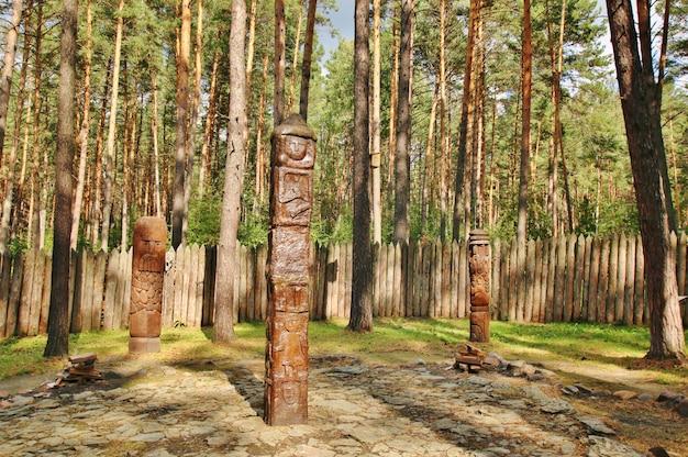 Gegenstand der verehrung der slawischen völker in sibirien