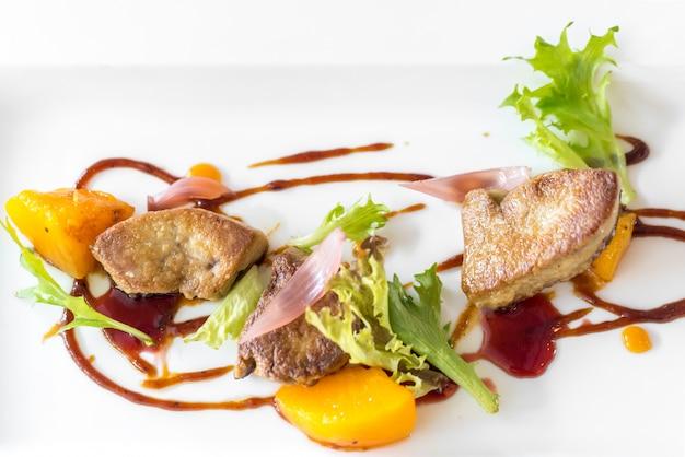 Gegrillte foie gras