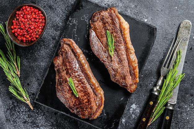 Gegrillte lendenstückkappe oder picanha-steak