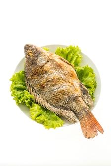 Gegrillter frischer fisch