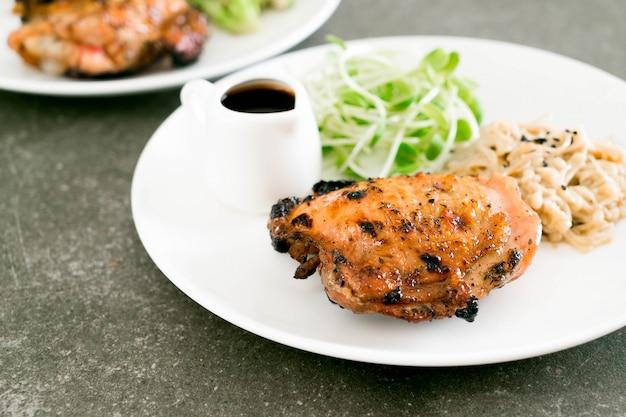 Gegrilltes hühnersteak