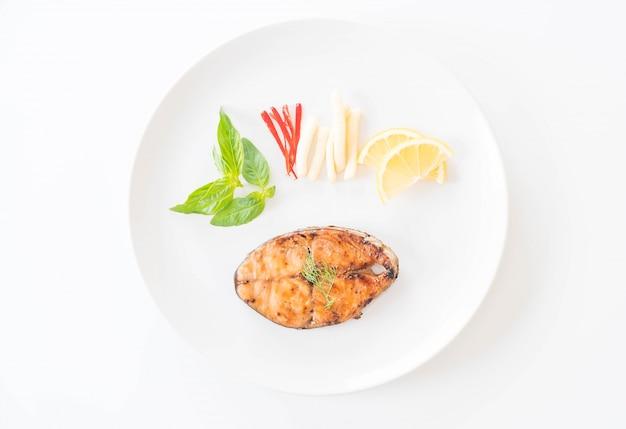 Gegrilltes makrelensteak
