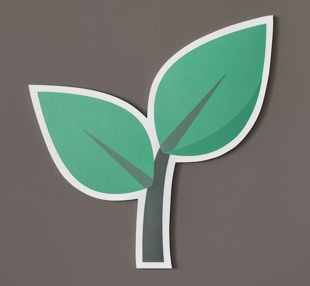 Gehen sie grün, denken sie grün, handeln sie grün