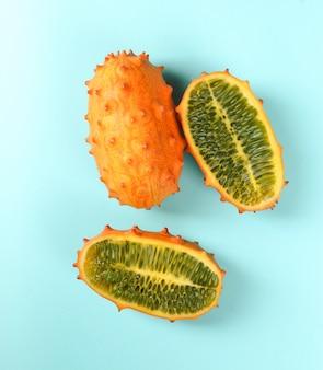 Gehörnte melone
