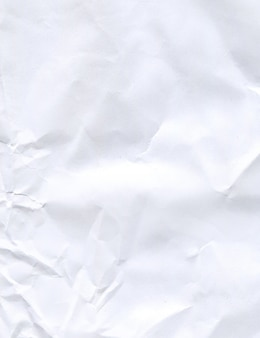 Geknitterte papierbeschaffenheit oder hintergrund. textur aus zerknittertem papier.