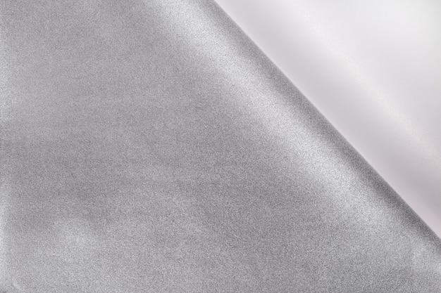 Gekräuselter papiereckhintergrund.