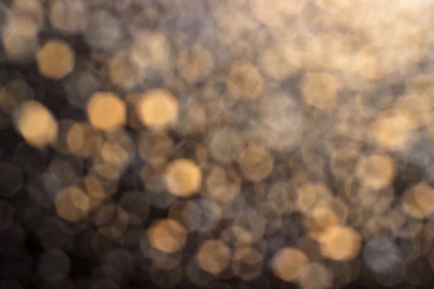Gelb-grauer bokeh-hintergrund
