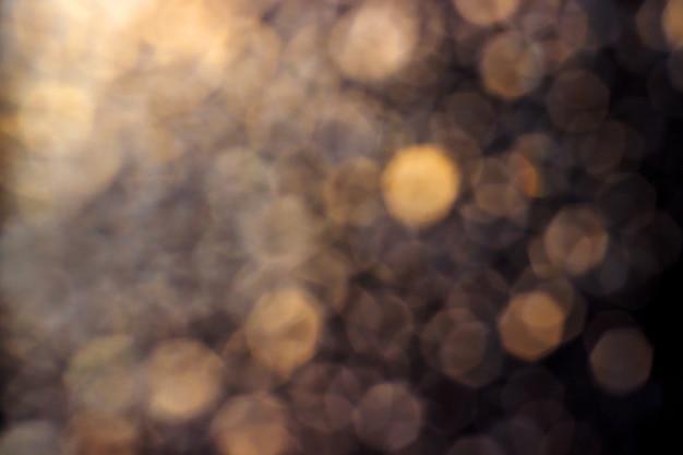 Gelbbrauner bokeh-hintergrund