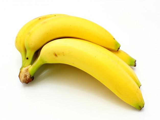 Gelbe bananen äpfel und birnen ein stillleben