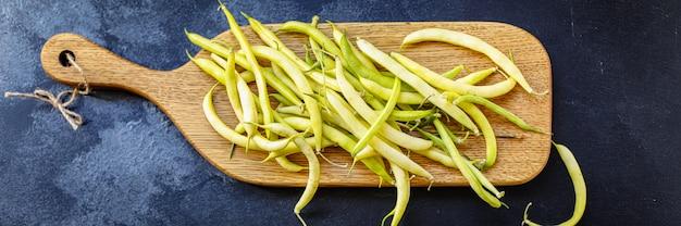 Gelbe bohnen färben hülsenfrüchte zutat