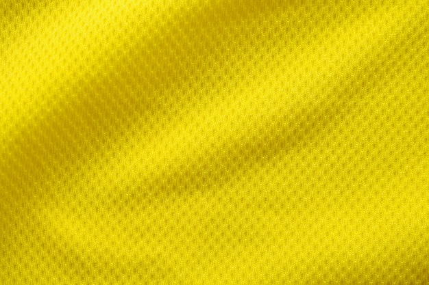 Gelbe farbe fußballtrikot textur