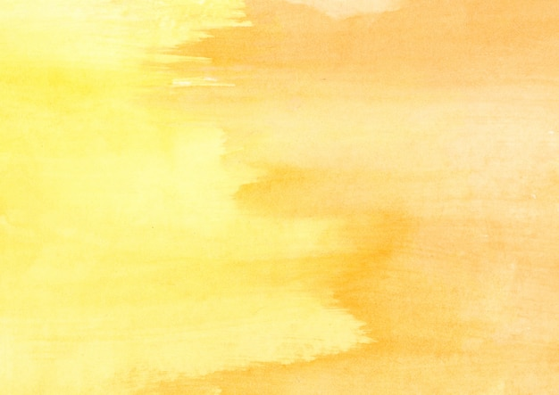 Gelbe pinsel textur