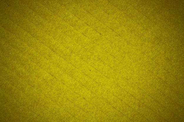 Gelbe recyclingkarton textur.