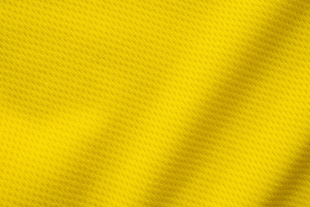 Gelbe sportbekleidung textur