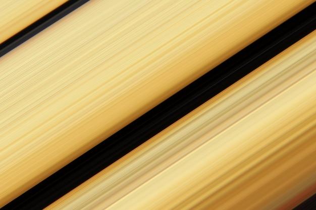 Gelbe und goldene farbstreifen des abstrakten musters für hintergrunddesign, deckton für hintergrund.