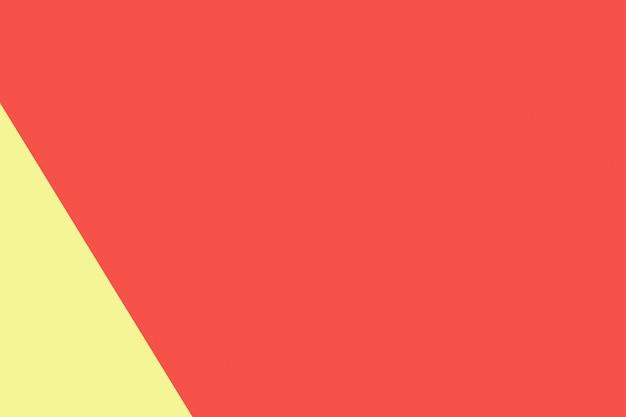 Gelbe und rote pastellpapierfarbe für beschaffenheitshintergrund