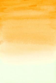 Gelber aquarell-hintergrund, papier, aquarell-beschaffenheit