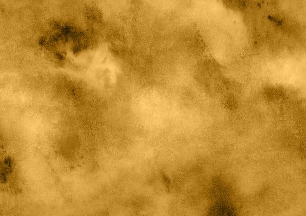 Gelber aquarell-hintergrund