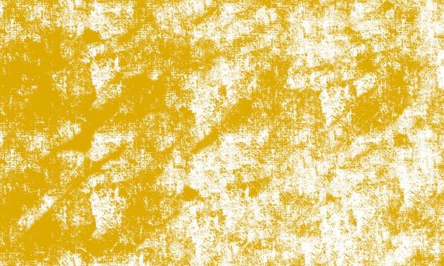 Gelber pinsel-grunge-hintergrund