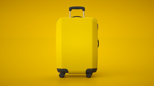 Gelber reisewagen