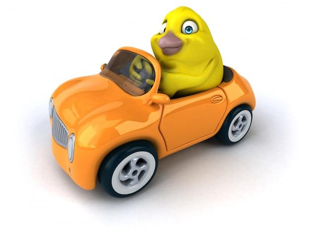Gelber vogel