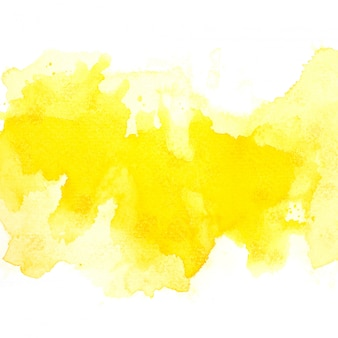 Gelbes aquarell