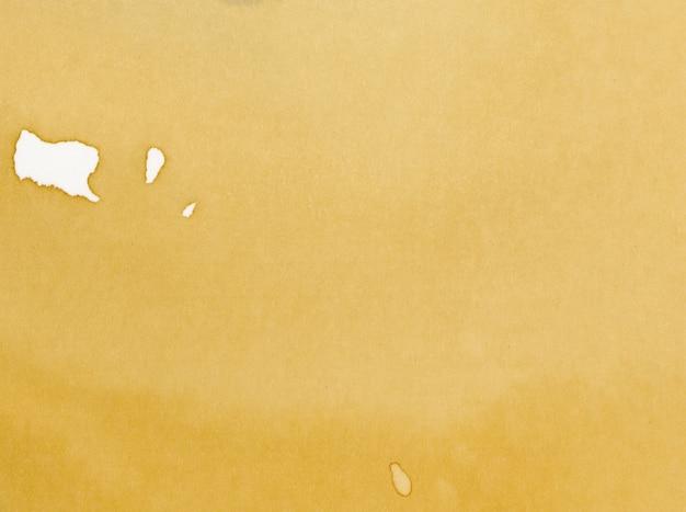 Gelbes aquarellpapier