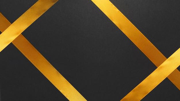 Gelbes band auf tabelle