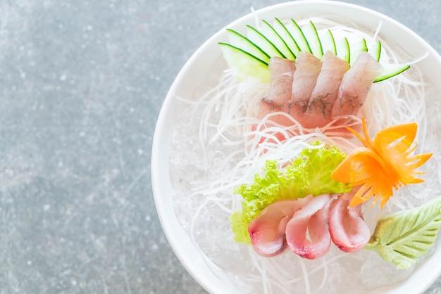 Gelbflossenthun-sashimi