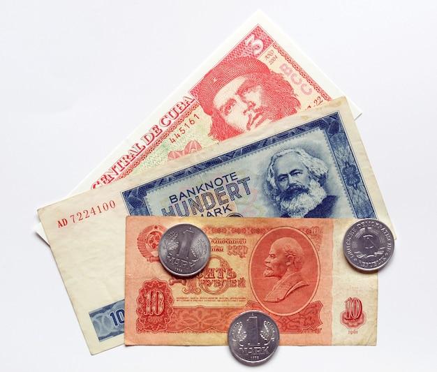 Geld aus kommunistischen ländern