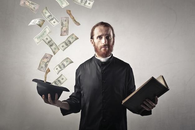 Geld ausgeben oder beten