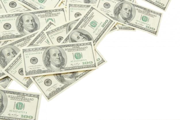 Geld, dollarnoten