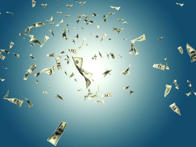 Geld in den himmel