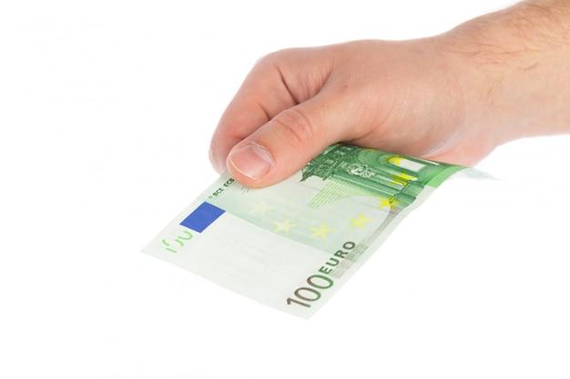 Geld isoliert auf weiß