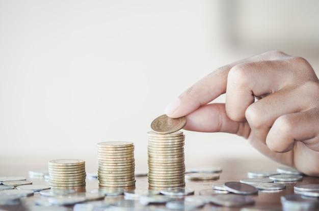 Geld sparen-konzept