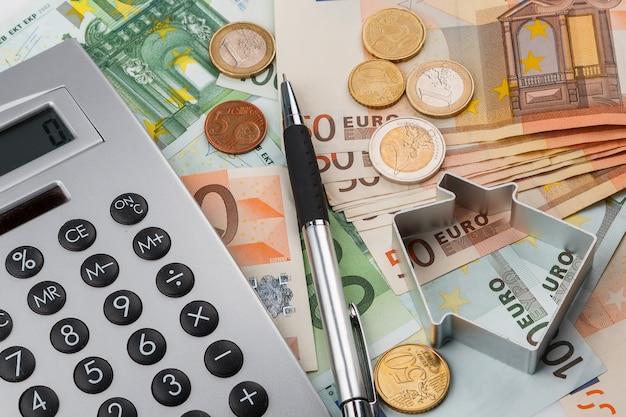 Geld und rechner