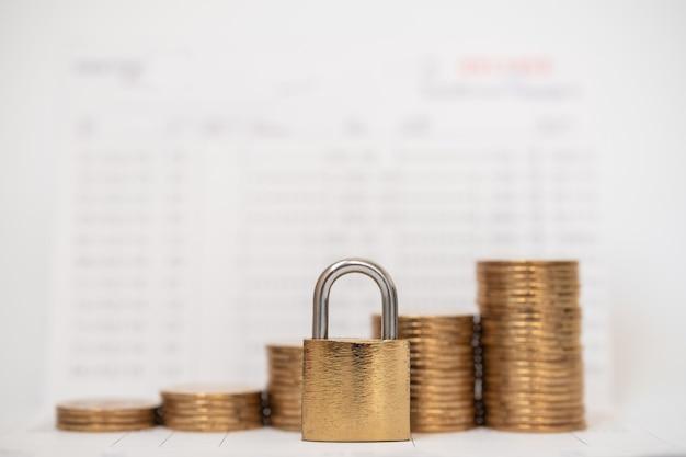 Geld- und sicherheitskonzept