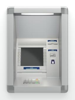 Geldautomat maschine an der wand