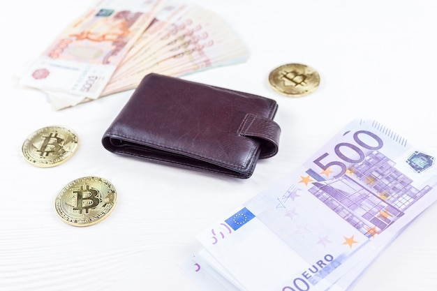 Geldbörse mit geld