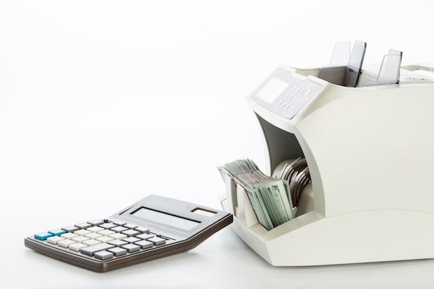 Geldzähler isoliert