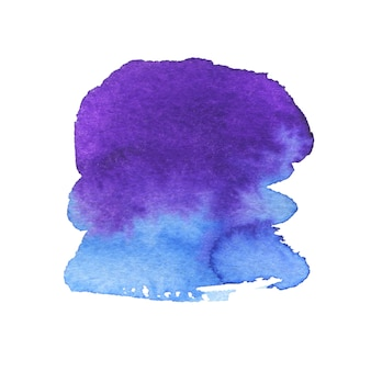 Gemalte form. aquarell kreative textur.